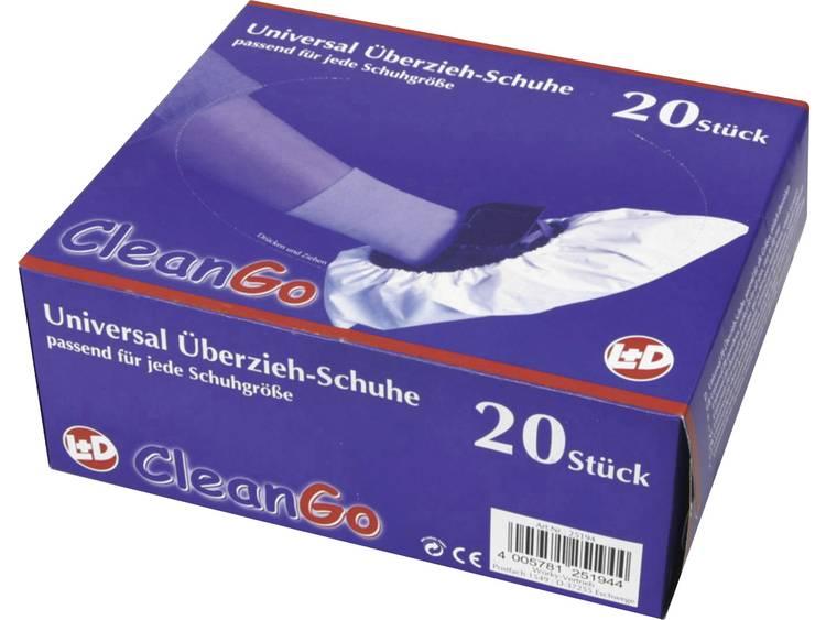 CleanGo 25194 Overschoenen CleanGo Maat=Eén maat Wit