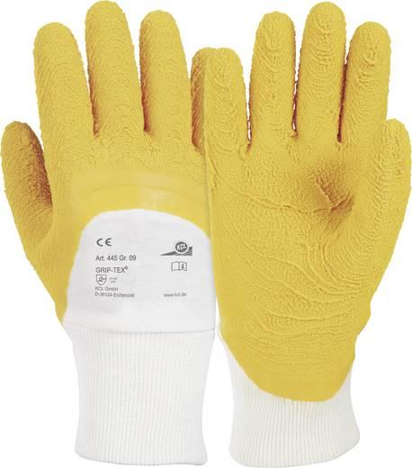 KCL 445 Handschoen Grip-Tex® Katoenen tricot met natuurlatex coating Maat (handschoen): 9, L