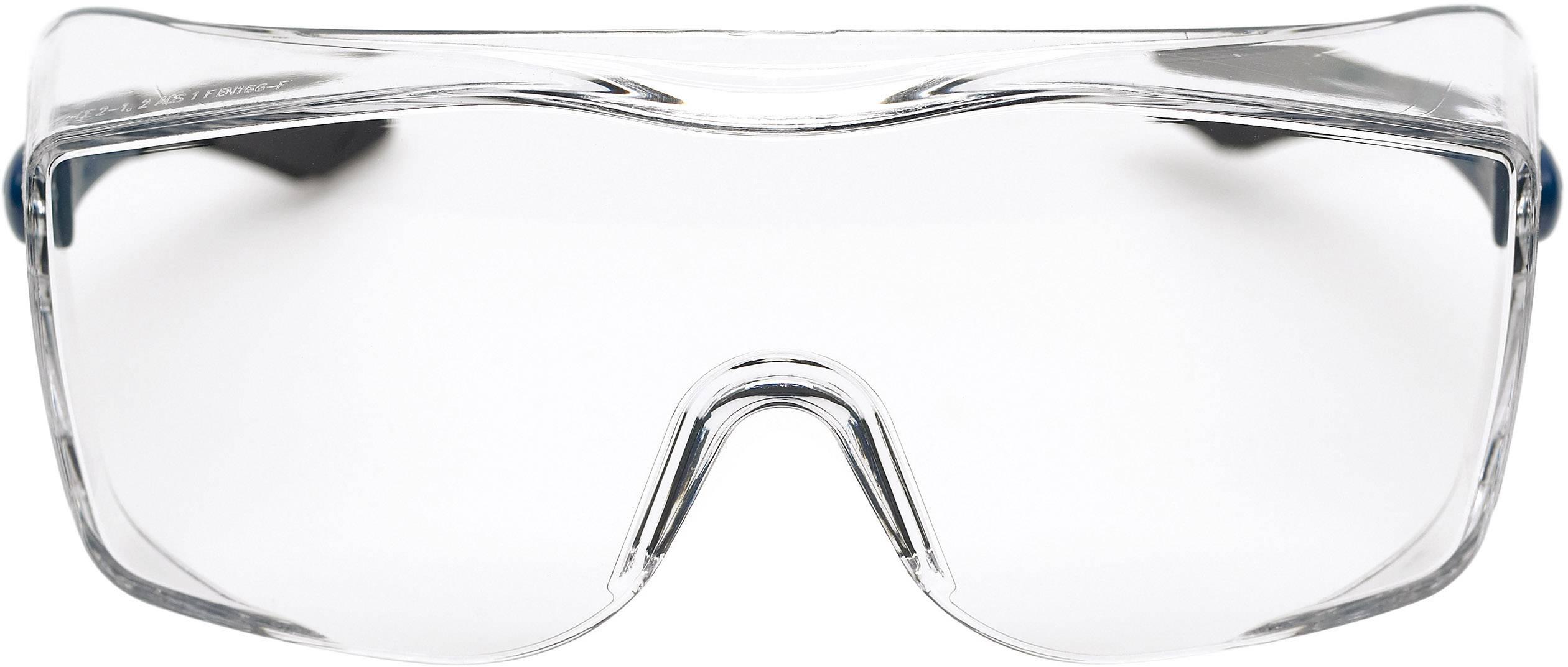 Populair 3M 17-5118-3040 Veiligheidsbril Blauw, Zwart DIN EN 166-1   Conrad.nl NC53