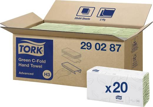 2 vellen 20 pack TORK Advanced 290287 Geschikt voor (dispenser): Tork H3