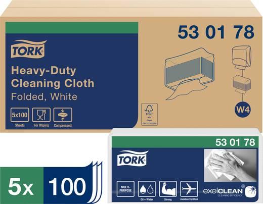 TORK 530178 Tork Premium reinigingsdoeken Zak Aantal: 500