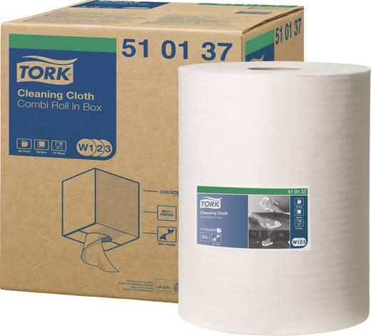 TORK 510137 Tork Premium reinigingsdoeken Rol Aantal: 400