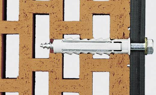 Fischer 70008 fischer pluggen SX 8 x 40 Nylon 8 mm 100 stuks