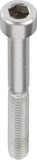 TOOLCRAFT Cilinderschroeven M2.5 12 mm Binnenzeskant (inbus) DIN 912 RVS A2 1 stuks