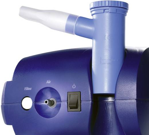 Inqua Inhalateur aérosol Inhalator met ademmasker, met mondstuk, incl. inhalatieoplossing