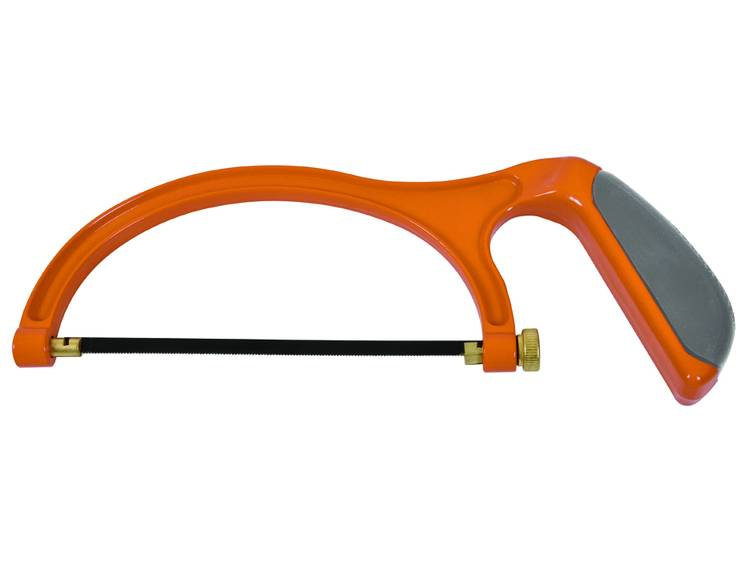 Mini-metaalzaag met soft-handgreep voor rechte sneden en 45° sneden, 150 mm AVIT AV09010