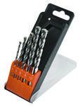 Steenboor set met hardmetalen tips, 5 stuks:. 4, 5, 6, boor 8 & 10 mm