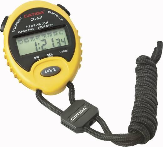 Race CG-501 Digitale stopwatch Geel, Zwart