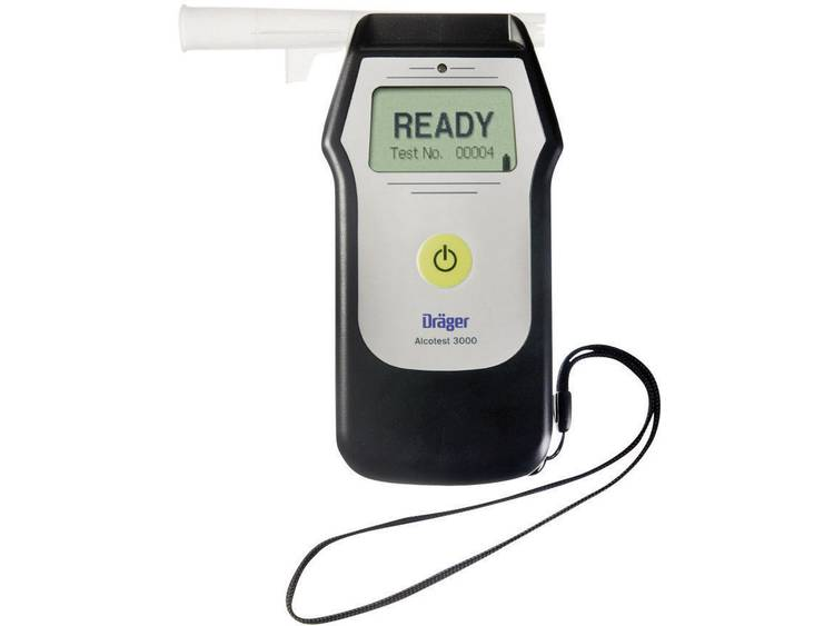 Dräger Alcotest 3000 Alcoholtester 0 tot 5 mg ml Incl. display