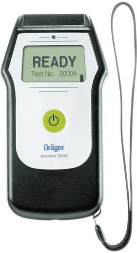 Dräger Alcotest 3000 Alcoholtester Meetbereik alcohol (max.): 5 mg/ml Incl. display