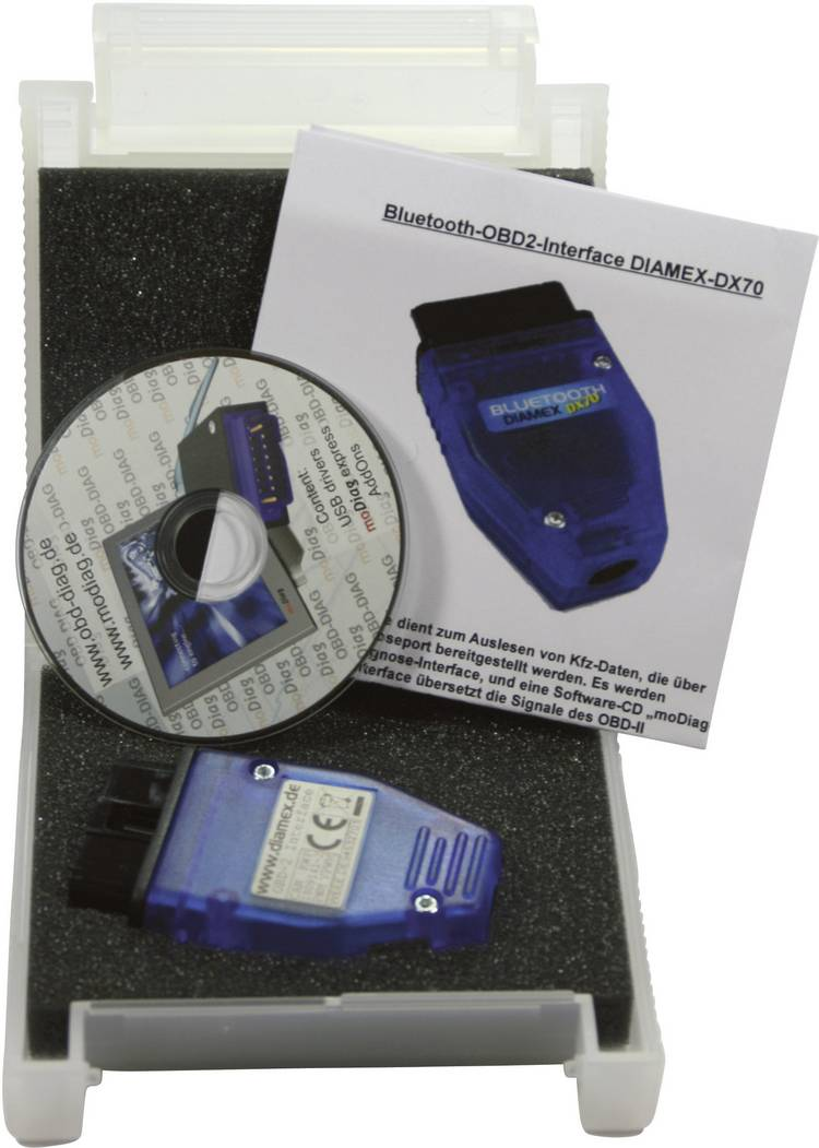 OBD II interface Diamex 4852610 DX70