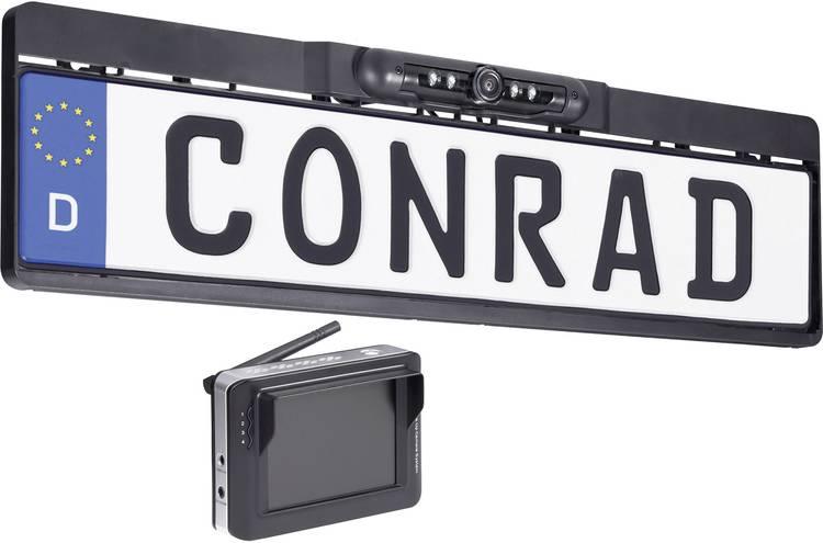 Image of Draadloze achteruitrijcamera dnt RFK Integro 3.5 Extra IR-verlichting, Automatische witbalans Opbouw