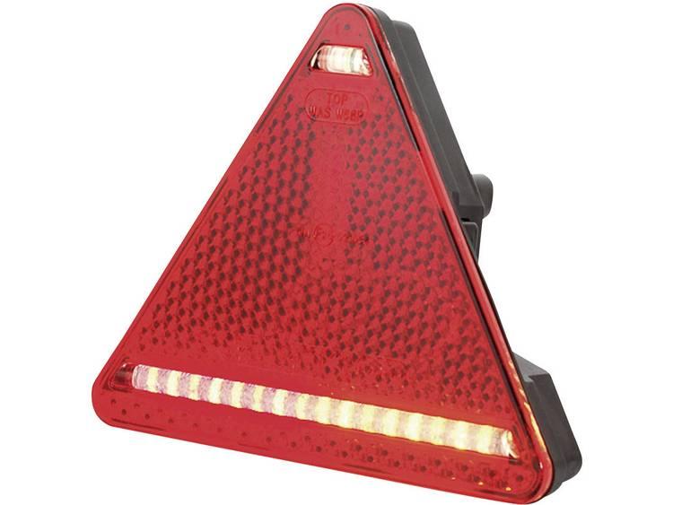 LED Aanhangerachterlicht Knipperlicht, Remlicht, Reflector, Achterlicht, Mistachterlicht achter, links 12 V, 24 V SecoRüt