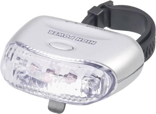 Achterlicht LED Security Plus DR 47 Werkt op batterijen Zilver