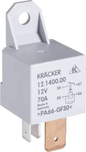 Auto-relais 12 V/DC 70 A 1x NO Kräcker 12.1400.00
