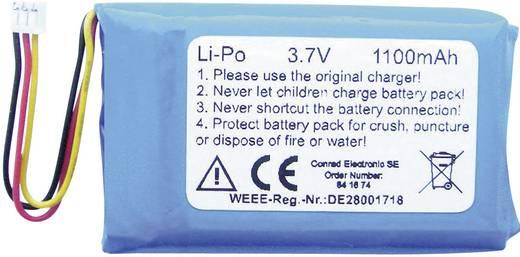 1Z10116 Speciale oplaadbare batterij Stekker LiPo 3.7 V 1100 mAh