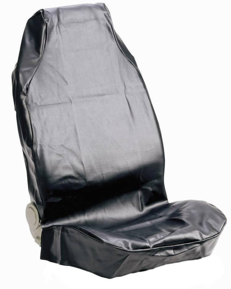 074010 Autostoelhoes 1 stuks Kunstleer Zwart Bestuurder