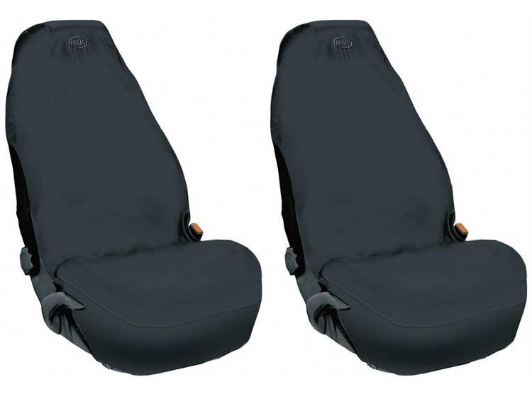 Autostoel beschermhoes Zwart Vlies