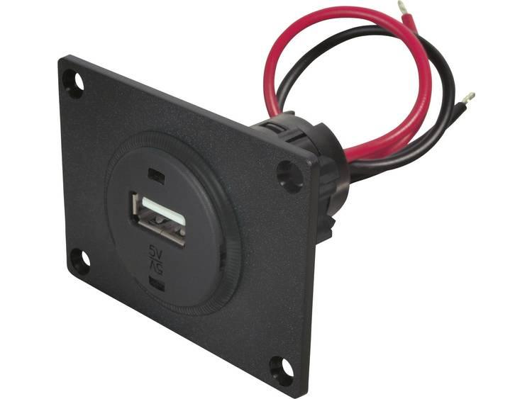ProCar 67312501 USB inbouwcontact Stroombelasting (max.) 1 A