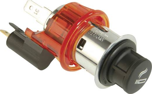 ProCar Sigarettenaansteker met spanhuls verlicht Stroombelasting (max.): 8 A Geschikt voor (details) Sigarettenaansteker