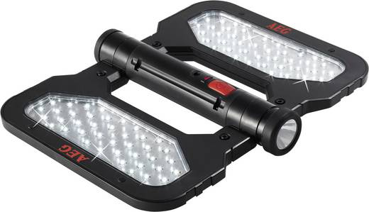 AEG 2AEG97194 FL 80 LED Platte werklamp werkt op een accu