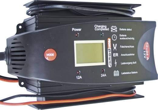 Acculader LCD 12/24 A