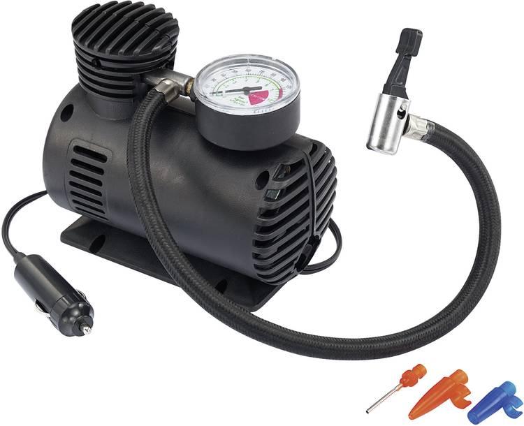 Image of Basetech Compressor Kompressor 12 V/17 bar 17 bar Analoge Manometer, Dubbele kop