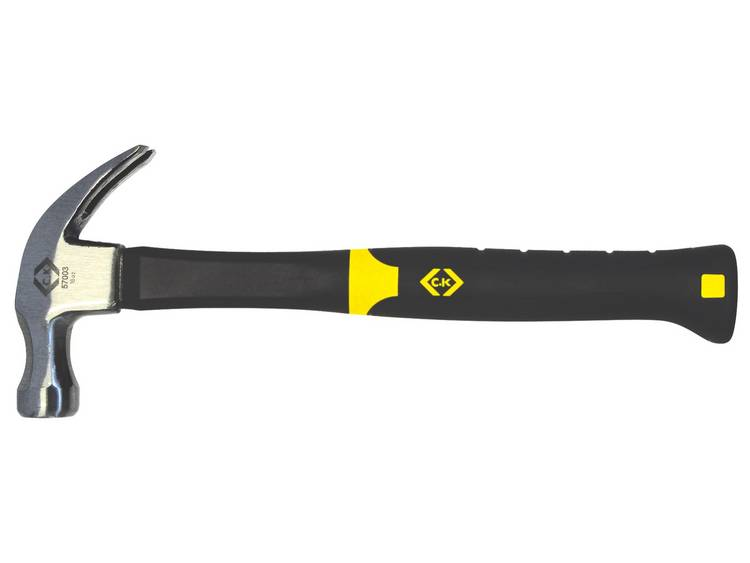 C.K. Trillingsbeschermde hamer met glasvezelversterkte steel 20 oz 568 g 357004