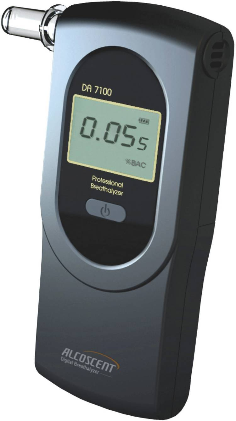 ACE DA-7100 Alcoholtester 0 tot 5 ‰ Incl. display