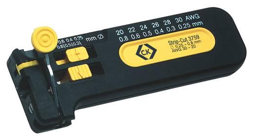 C.K. 330012 Draadstripper Geschikt voor PVC-draden, PTFE-draden 0.25 tot 0.80 mm