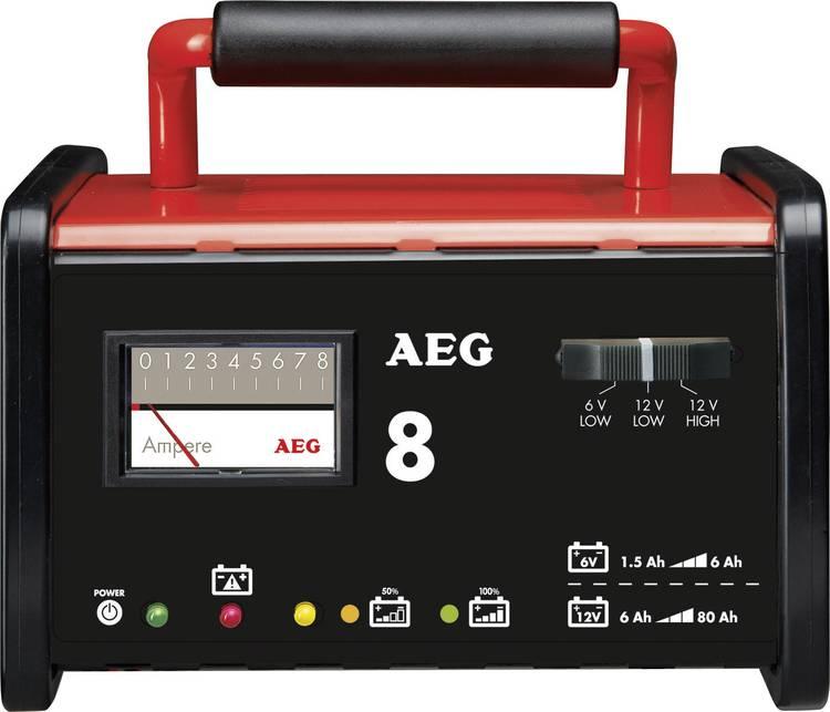 Image of Acculader AEG WM 8 6 V, 12 V 7.2 A 8 A