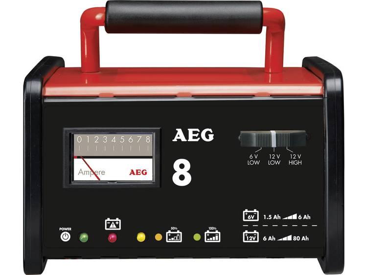 AEG AEG-werkplaatsoplader WM 8 Acculader 6 V, 12 V