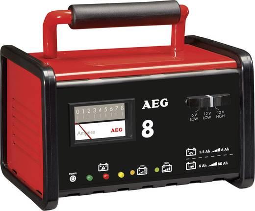 Acculader AEG WM 8 6 V, 12 V 7.2 A 8 A