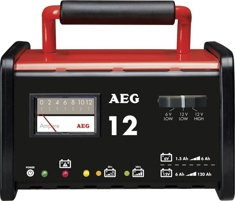 Image of Acculader AEG WM 12 6 V, 12 V 12 A 12 A
