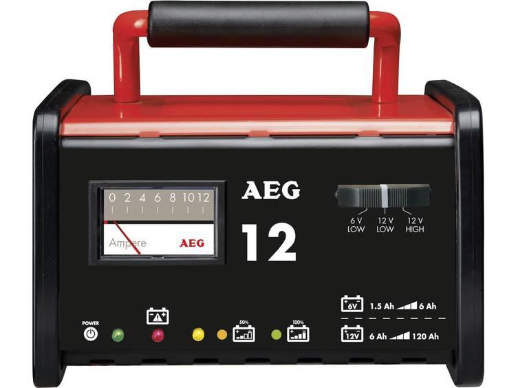 AEG AEG-werkplaatsoplader WM 12 Acculader 6 V, 12 V