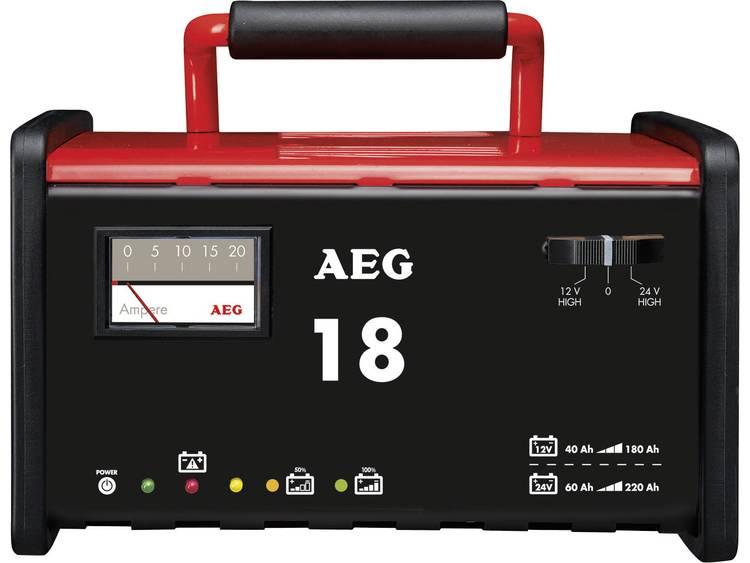 AEG AEG-werkplaatsoplader WM 18 Acculader 12 V, 24 V