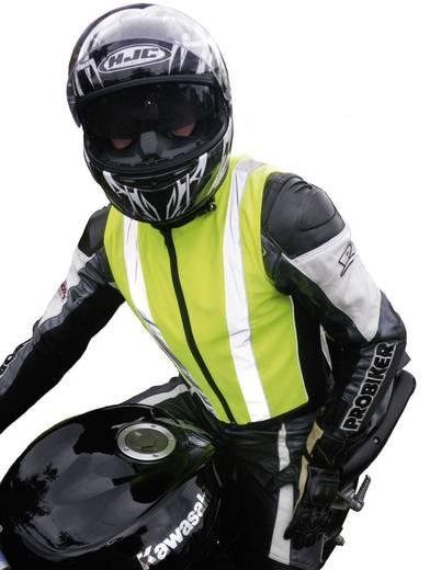 Motorrad-Sicherheitsweste XL Volwassene (motor) Helder-geel, Zilver (reflecterend)