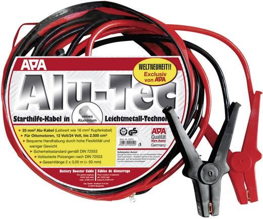 APA Alu-Tec Startkabels 25 mm² Aluminium 3 m zonder beveiligingsschakeling Aluminium