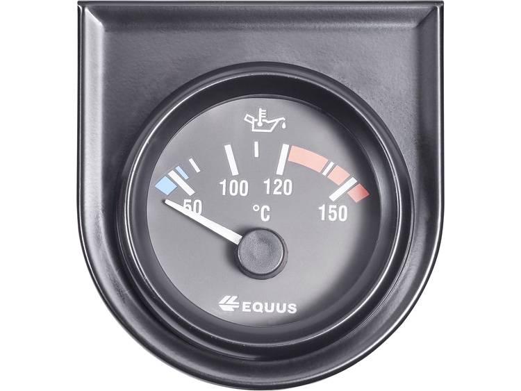 Equus 842109 Inbouwmeter (auto) Water olietemperatuurweergave Meetbereik 60 160 °C Standart Geel, Rood, Groen 52 mm
