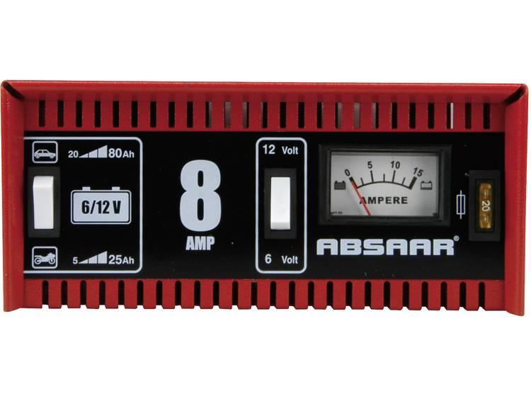 Absaar Acculader 8A 6-12V motorfiets Acculader 6 V, 12 V