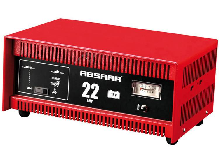 Absaar Acculader 22 A 12V-starthulp Acculader 12 V