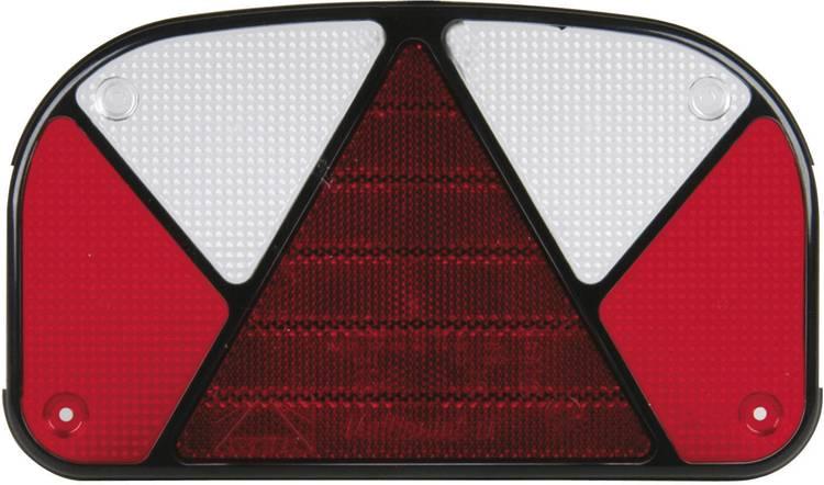 Reserve glas Knipperlicht. Remlicht. Kentekenverlichting. Reflector. Achterlicht. Mistachterlicht rechts. links Unitec
