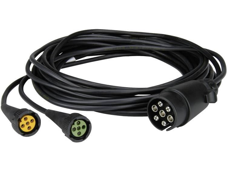 Kabelset Stekker, 7 polig Aantal aders 7 5 m