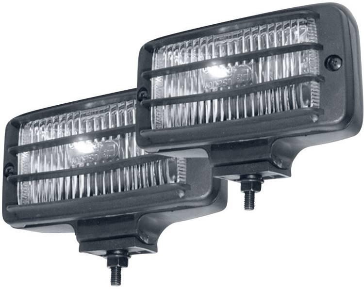 Afstandschijnwerper H3 HP Autozubehor (b x h x d) 145 x 60 x 70 mm Zwart