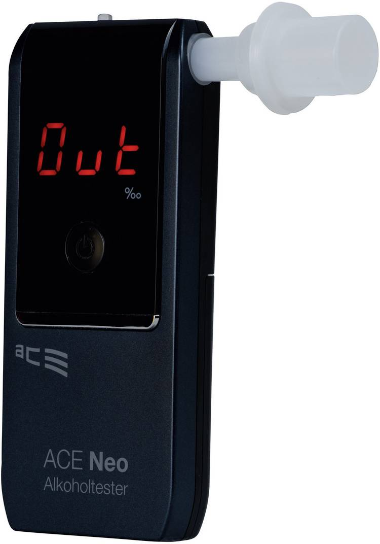ACE Neo Alcoholtester Marine 0 tot 4 ‰ Incl. display