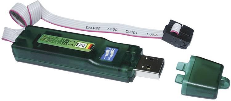 Image of Programmeeradapter Diamex 7200 USB-ISP-Stick AVR