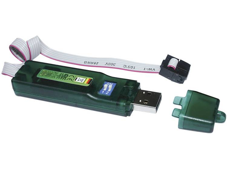 Programmeeradapter Diamex 7200 USB-ISP-Stick AVR