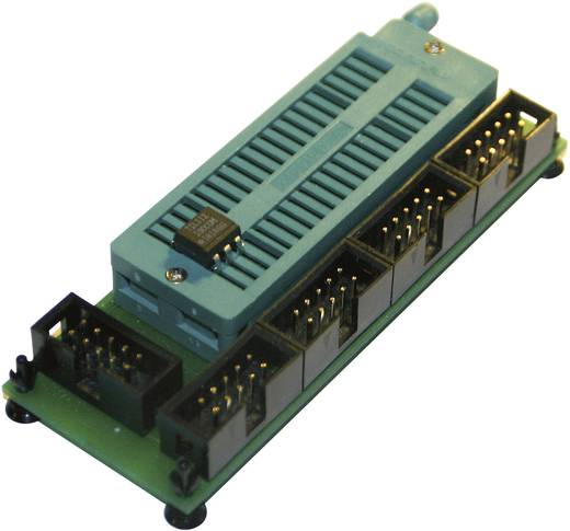 Diamex 7204 Universele programmeeradapter AVR zwenkhefboom voor DIL AVR-controllers en 10-pol ISP aansluiting