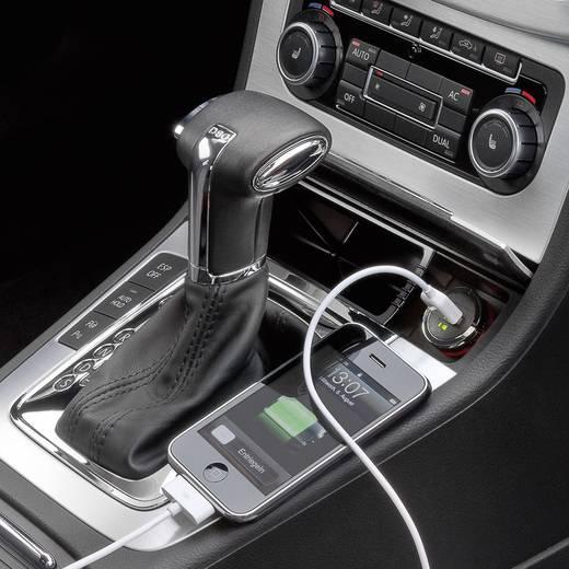 Cabstone USB-adapter voor de sigarettenaansteker Stroombelasting (max.): 1.2 A Geschikt voor (details) Sigarettenaansteker, USB-A