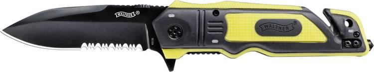 Walther Zakmes Rescue Knife Zwart. Geel